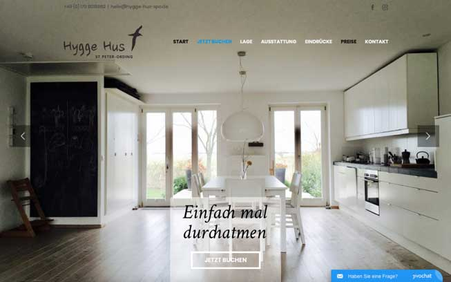 Layout Hygge Hus Desktop