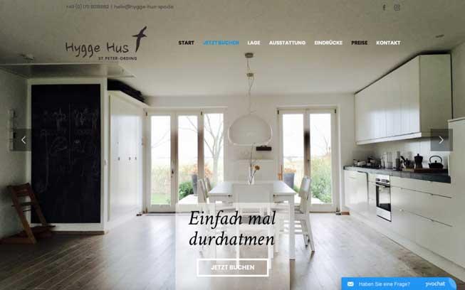 Hygge Hus Web Design Von Cyberdog Designs Desktop Version